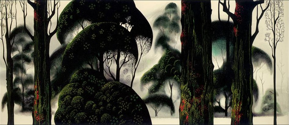 Eyvind Earle, Forest Magic, 1999