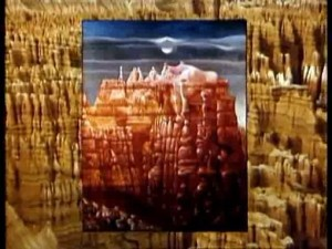 """Max Ernst """"Bryce Canyon""""? (1946)"""